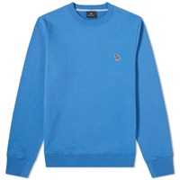 Paul Smith Zebra Crew Sweat Blue