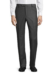 Saks Fifth Avenue Classic Wool Dress Pants Blue
