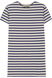 Nlst True Striped Cotton Jersey Mini Dress