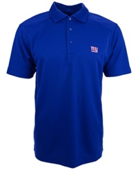 Cutter And Buck Men's Short Sleeve New York Giants Polo Royalblue