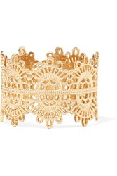 Grace Lee Lace 14 Karat Gold Ring 6