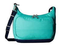 Pacsafe Citysafe Ls100 Travel Handbag Lagoon Handbags Blue