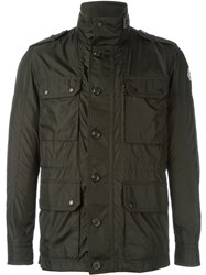 Moncler Military Style Jacket Green