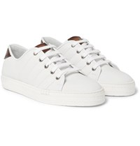 Berluti Playfield Leather Sneakers White