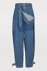 J.W.Anderson Buttoned Jeans Color