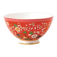Wedgwood Wonderlust Bowl Crimson Jewel