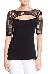 Women's Bailey 44 'Northern Circuit' Mesh Cutout Top