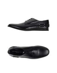 Alessandro Dell'acqua Lace Up Shoes Black