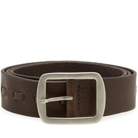 Nudie Jeans Axelsson Leather Belt Brown