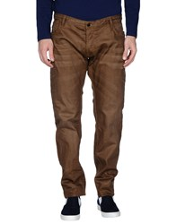Japan Rags Denim Denim Trousers Men Brown