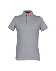Sweet Years Topwear Polo Shirts Men Light Grey
