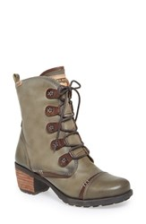 Women's Pikolinos 'Le Mans' Laced Boot Laurel