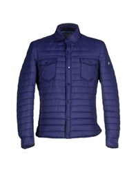 Massimo Rebecchi Coats And Jackets Jackets Men Dark Purple