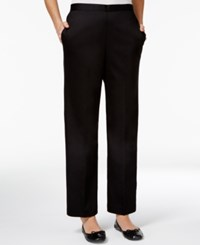 Alfred Dunner Pull On Pants Black