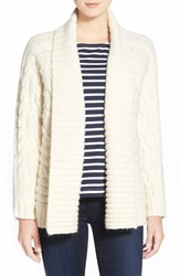 Women's Vineyard Vines Cable Knit Open Front Cardigan