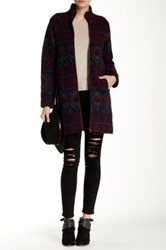 Jack Chia Printed Coat Multi