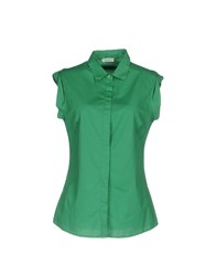 Cappellini By Peserico Shirts Green