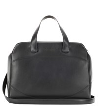 Victoria Beckham Saturday Leather Tote Black