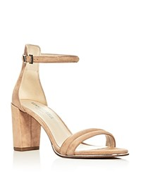 Kenneth Cole Lex Ankle Strap High Heel Sandals Buff