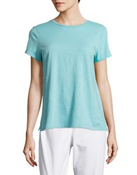 Eileen Fisher Petite Textured Cotton Tee Scarb