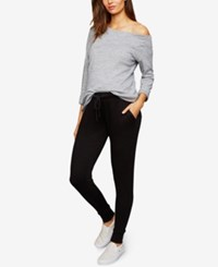A Pea In The Pod Maternity Under Belly Jogger Pants Black