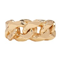 Emanuele Bicocchi Gold Chain Ring