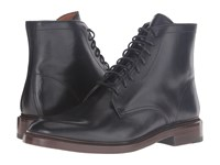 Frye Jones Lace Up Black Vintage Veg Tan Men's Boots