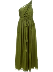 Msgm One Shoulder Evening Gown