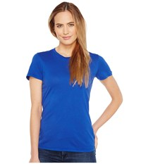 Mod O Doc Fitted Short Sleeve Crew Ocean Women's Clothing Blue