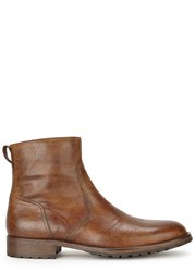 Belstaff Artwell Brown Leather Boots