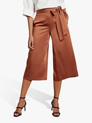 Ted Baker Theorda Tie Waist Culotte Trousers Brown
