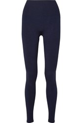 Lndr Eight Eight Compression Seamless Stretch Leggings Navy