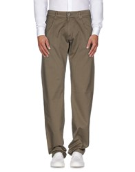 Bikkembergs Trousers Casual Trousers Men Military Green