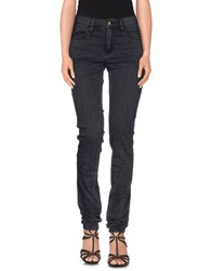 Monkee Genes Denim Denim Trousers Women Steel Grey