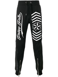 Philipp Plein Look At You Track Pants Black