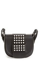 Pedro Garcia Studded Mini Crossbody Bag Black Black Vachetta