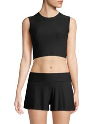 Commando Butter Crop Muscle Tee Midnight
