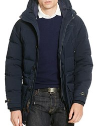 Polo Ralph Lauren Twill Down Parka Aviator Navy