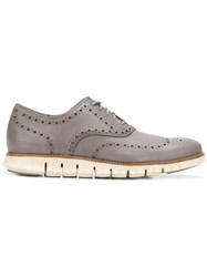 Cole Haan Zerogrand Oxford Shoes Grey