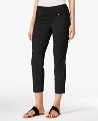 Styleandco. Style And Co. Pull On Capri Jeans Only At Macy's Deep Black