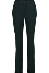 Goat Austin Wool Crepe Slim Leg Pants Blue