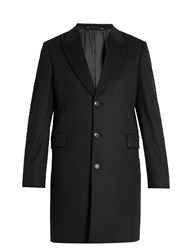 Paul Smith Epsom Wool And Cashmere Blend Overcoat Navy