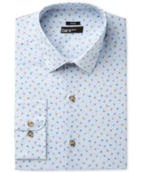 Bar Iii Men's Slim Fit Stretch Butterfly Print Dress Shirt Only At Macy's Purple