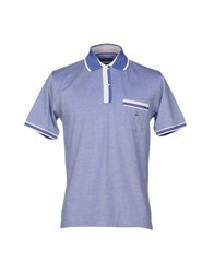 Bramante Polo Shirts Purple
