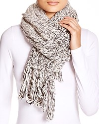 Ugg Australia Grand Meadow Novelty Cable Fringe Scarf