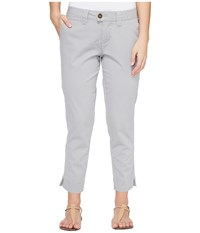 Jag Jeans Petite Creston Ankle Crop In Bay Twill Shadow Women's Casual Pants Brown