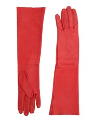 Space Style Concept Gloves Red