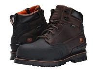 Timberland 6 Rigmaster Xt Steel Safety Toe Waterproof Brown Tumbled Leather Men's Work Boots