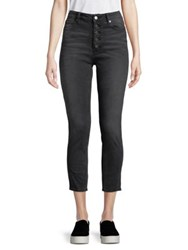 Design Lab Lord And Taylor Crop Skinny Jeans Maya Charcoal