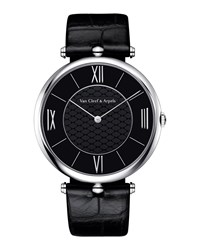 Pierre Arpels Platine Watch 42Mm Van Cleef And Arpels White